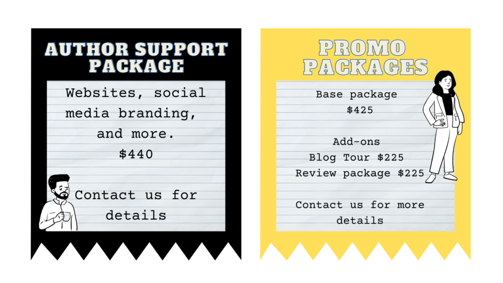 Writers First Packages